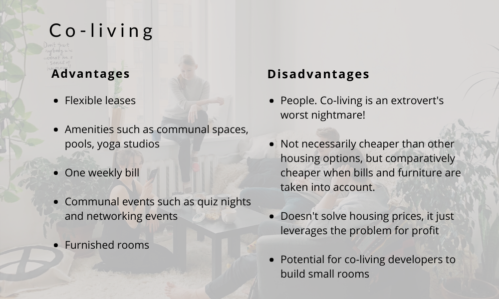 Advantages of Co-Living Environments